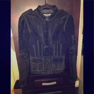 SUPER CUTE BEBE Jacket! Black suede jacket!! HOT!